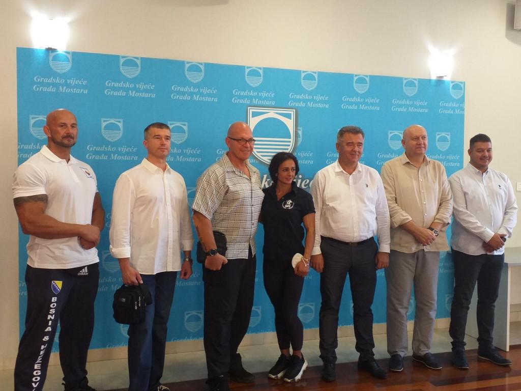 <p>Mostar domaćin Europskog prvenstva u bodybuildingu</p>