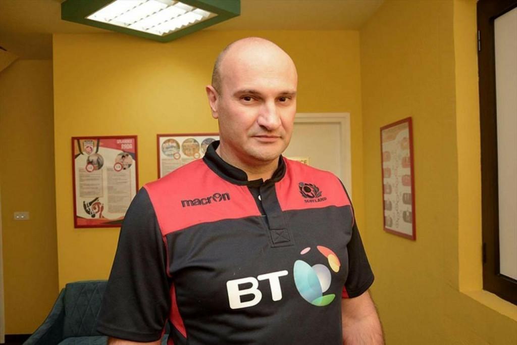 <p>Bojan Stanić, predsjednik Ragbi kluba Herceg</p>