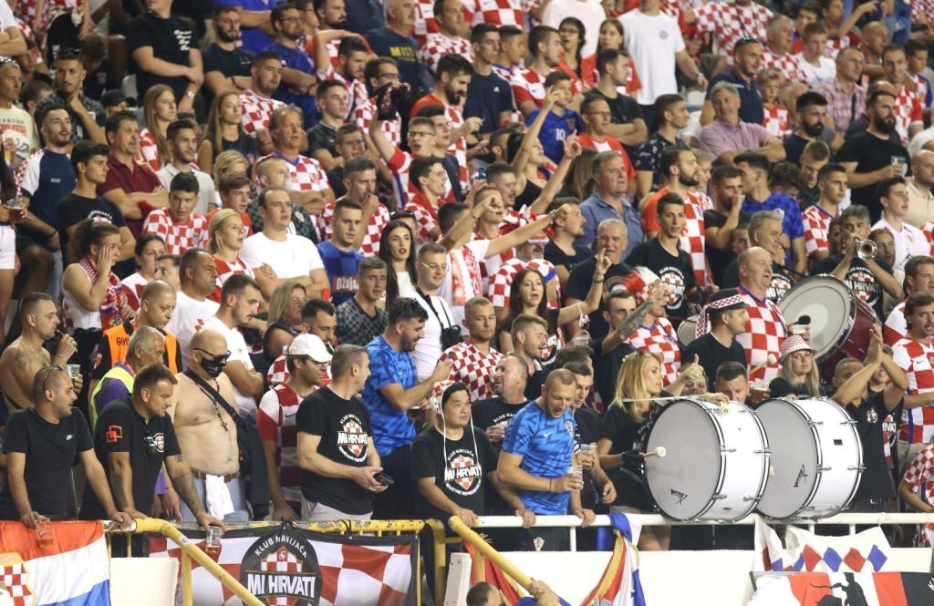 <p>Split - Stadion Poljud, Kvalifikacije za SP 2022., Skupina H, Hrvatska - Slovenija</p>