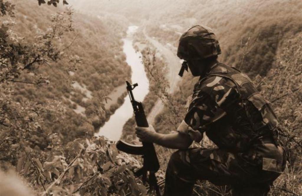 <p>Pripadnik 128. brigade HV-a</p>