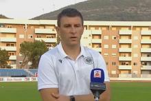 <p>Sergej Jakirović nakon utakmice s Leotarom</p>