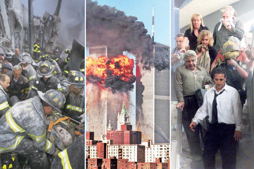 <p>Treoristički napad u New Yorku 11. rujna 2001.</p>