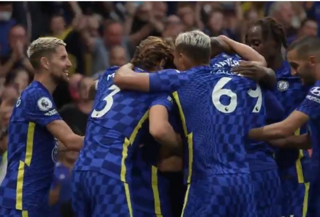 <p>Slavlje igrača Chelseaja</p>