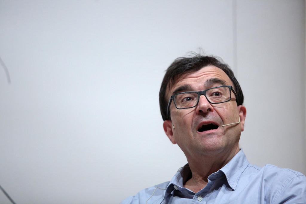 <p>Javier Cercas,španjolska književna zvijezda na Festivalu svjetske književnosti u Zagrebu<br /> </p>