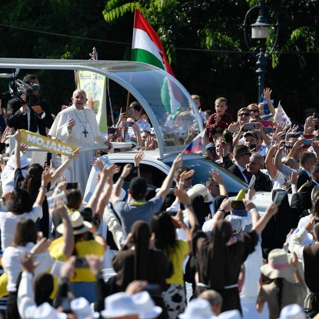 <p>Papa Franjo u posjetu Mađarskoj</p>