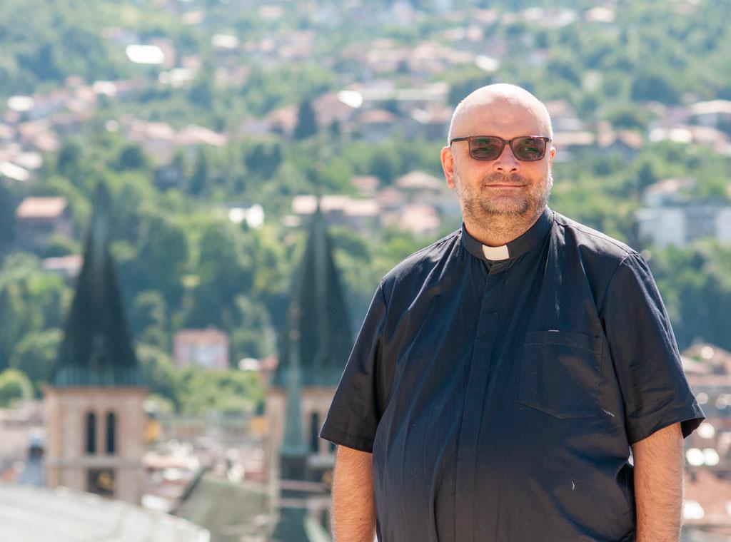 <p>Dr. sc. vlč. Mario Bernadić, generalni tajnik Prve sinode Vrhbosanske nadbiskupije</p>