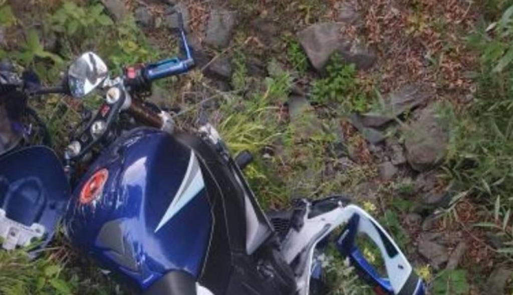 <p>Ukrao pa razbio motocikli</p>