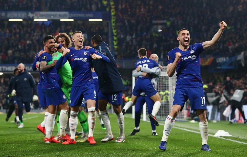 <p>Chelsea nakon osvajanja Lige prvaka 2020/21</p>