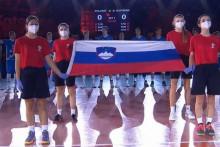 <p>Slovencima pustili himnu Srbije</p>