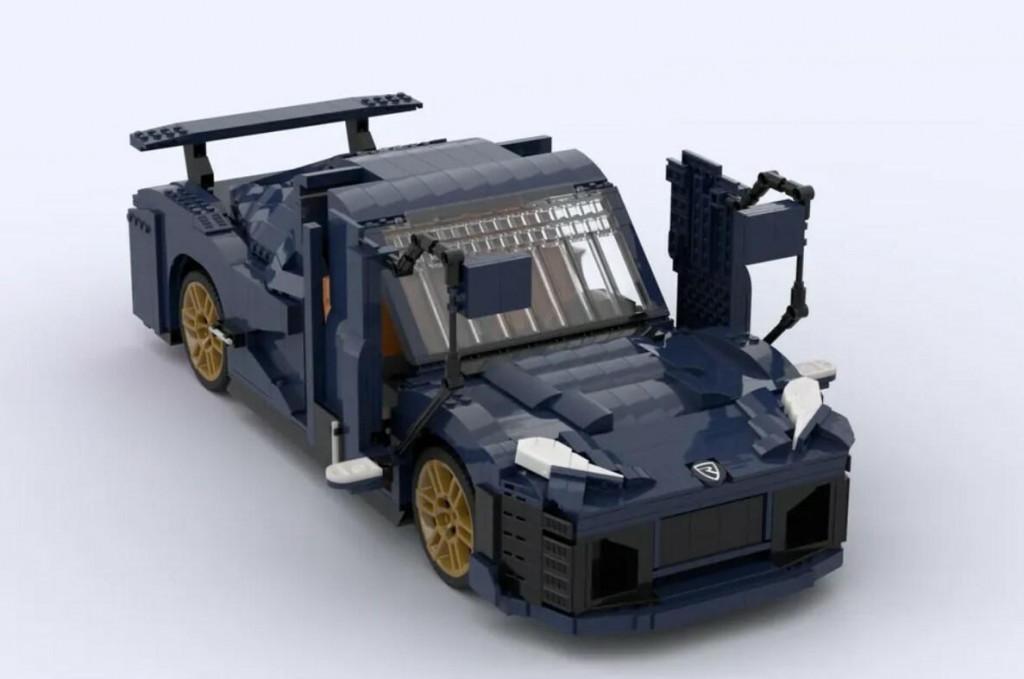<p>Rimac Nevera napravljena od Lego kockica</p>