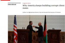 <p>The Economist: Zašto Amerika gradi korumpirane sluganske države</p>