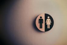 <p>Znak za muški i ženski toalet</p>