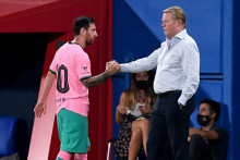 <p>Messi i Koeman</p>