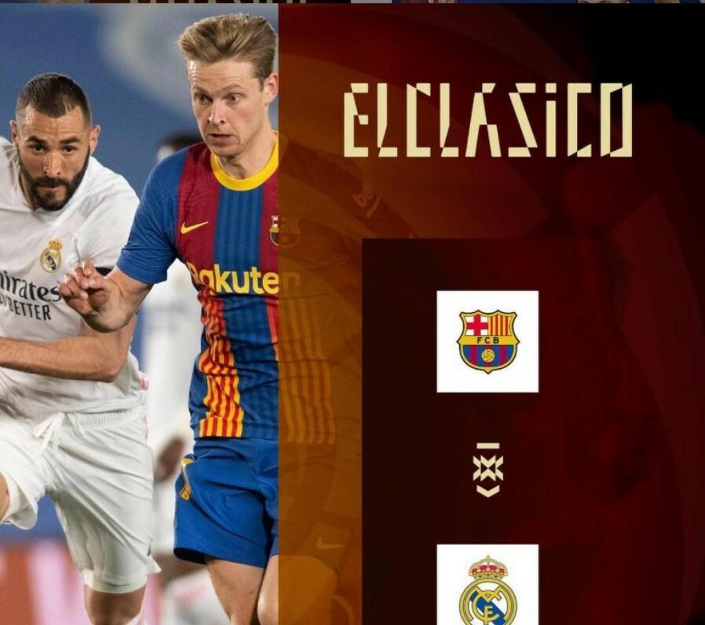 <p>Objavljeno kad se igra El Clasico</p>