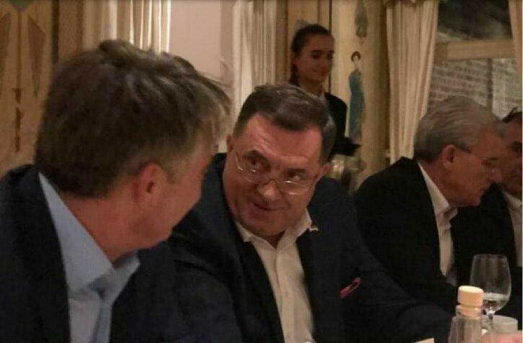 <p>Komšić i Dodik</p>