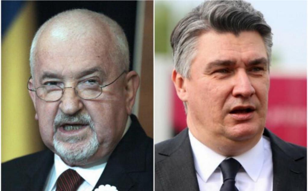 <p>Mustafa Cerić i Zoran Milanović</p>