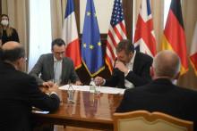 <p>Vučić s veleposlanicima Kvinte</p>
