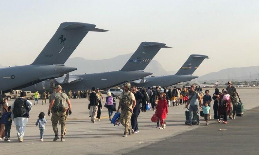 <p>Zračna luka u Kabulu - Evakuacija</p>