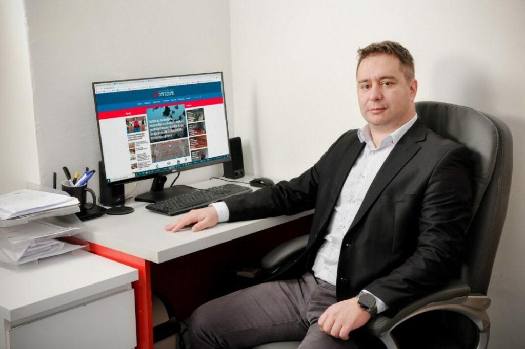 <p>Josip Križanović, dopredsjednik HKD Napredak</p>