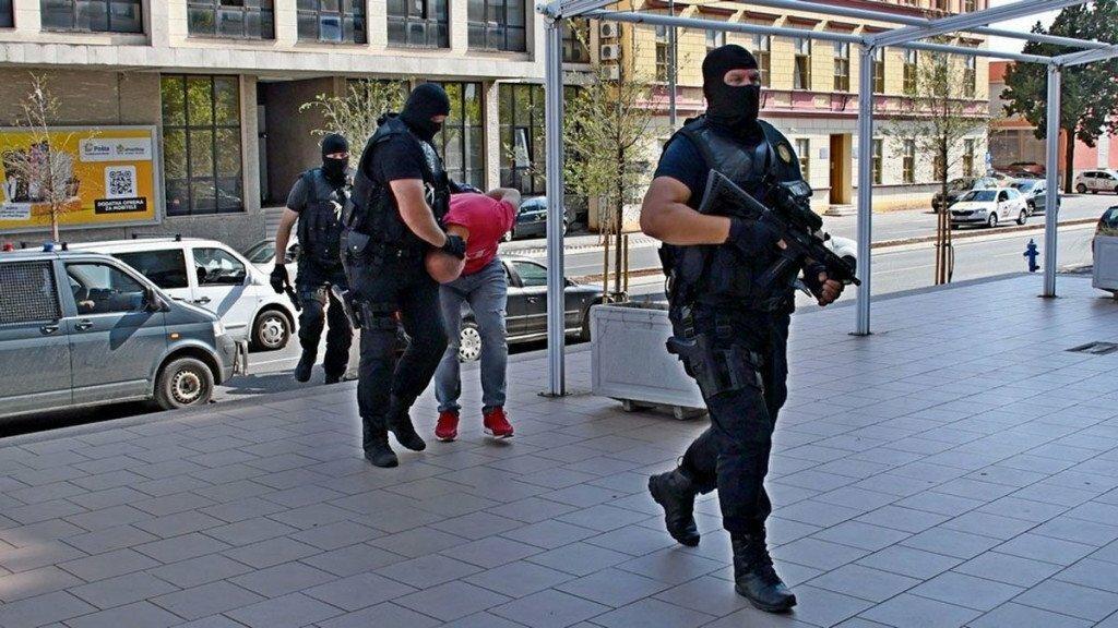 <p>Policijska akcija u Mostaru</p>