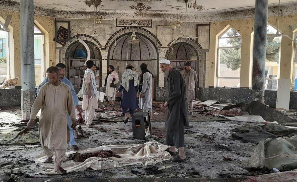 <p>Eksplozija u džamiji u Afganistanu</p>