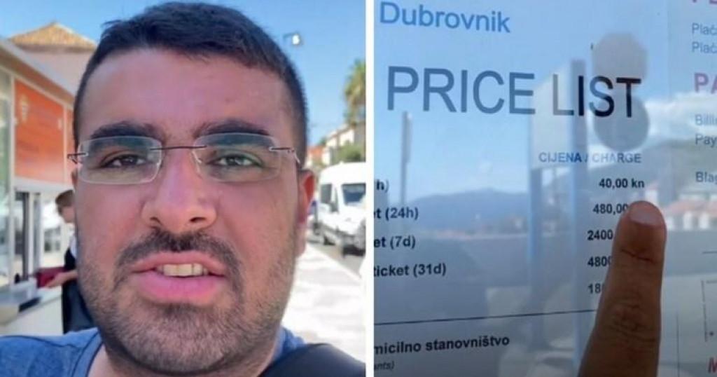 <p>Turist iz Njemačke posjetio Dubrovnik i požalio se</p>