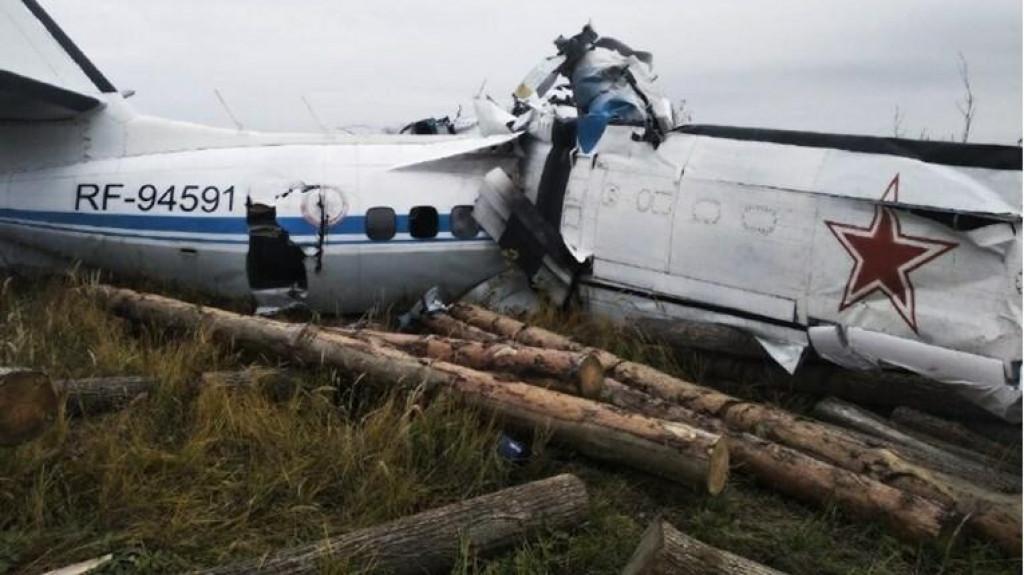 <p>Pao avion u Rusiji</p>