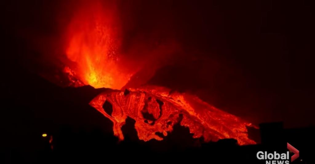 <p>Erupcija vulkana na La Palmi</p>