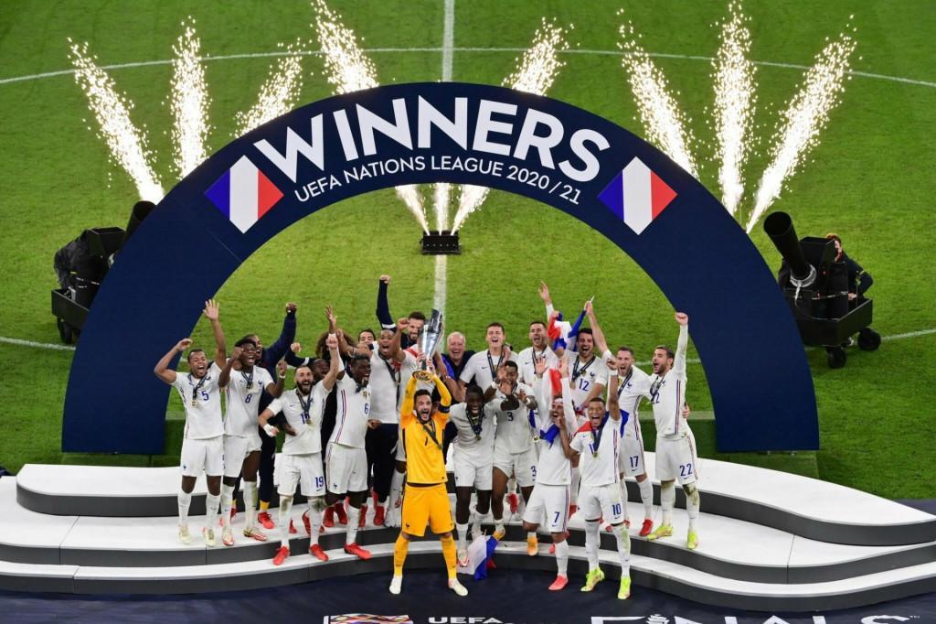 <p>Francuska osvojila Ligu nacija</p>