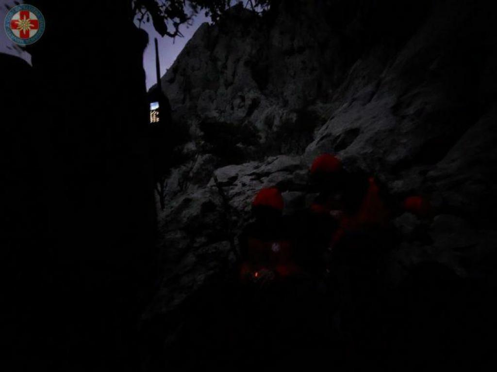 Akcija spašavanja na Velebitu