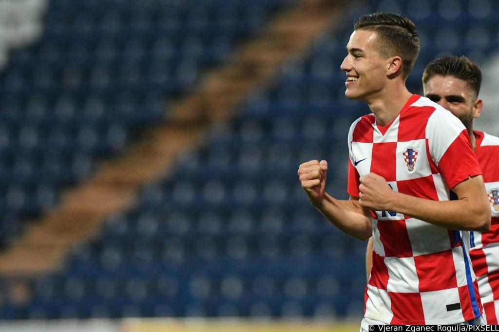 <p>08.10.2021.,Varazdin - Hrvatska U-21 reprezentacija u kvalifikacijama za Euro igra protiv Norveske.</p>