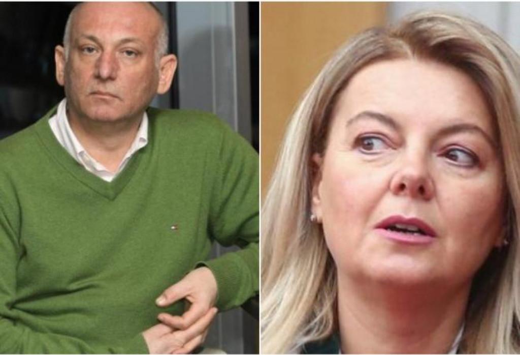 <p>Denis Latin i Mirjana Hrga</p>