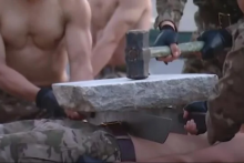 <p>Vojnici demonstrirali pripremljenost</p>