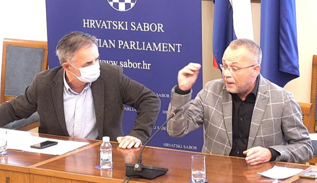 <p>Rasprava Pupovca i Hasanbegovića</p>