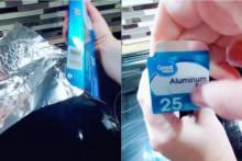 <p>Cijelo vrijeme pogrešno koristite aluminijsku foliju, ovo je ispravan način</p>