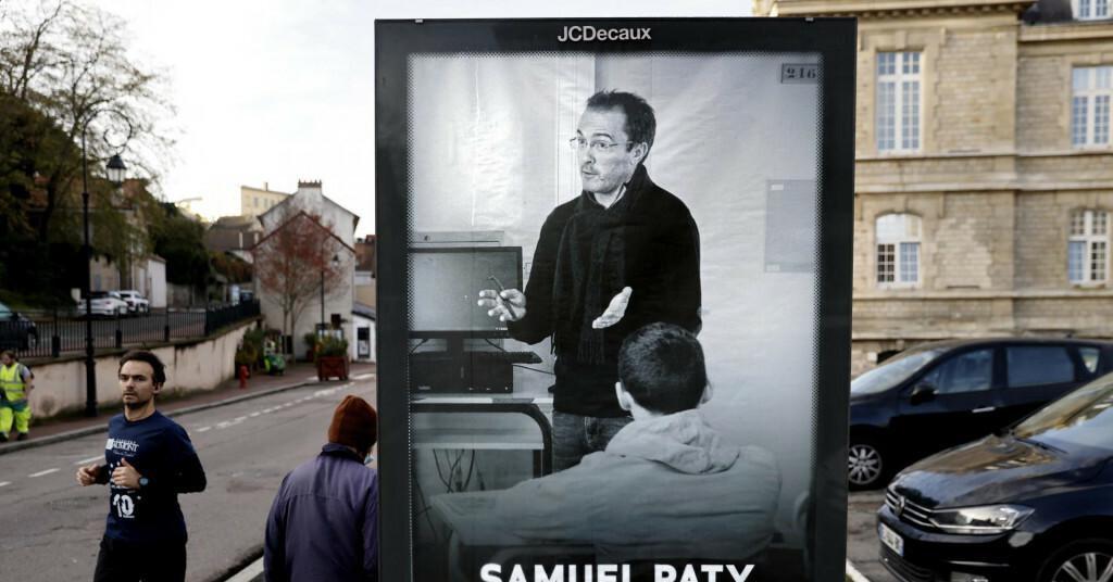 <p>Francuski učitelj Samuel Paty</p>