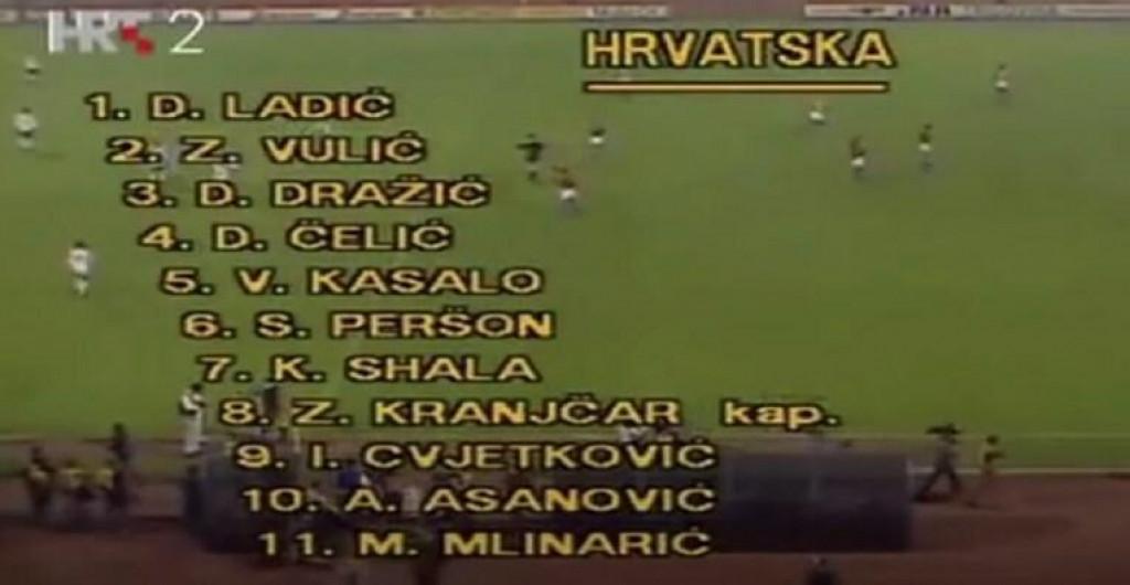 <p>Dan kad je Hrvatska odigrala prvu utakmicu</p>