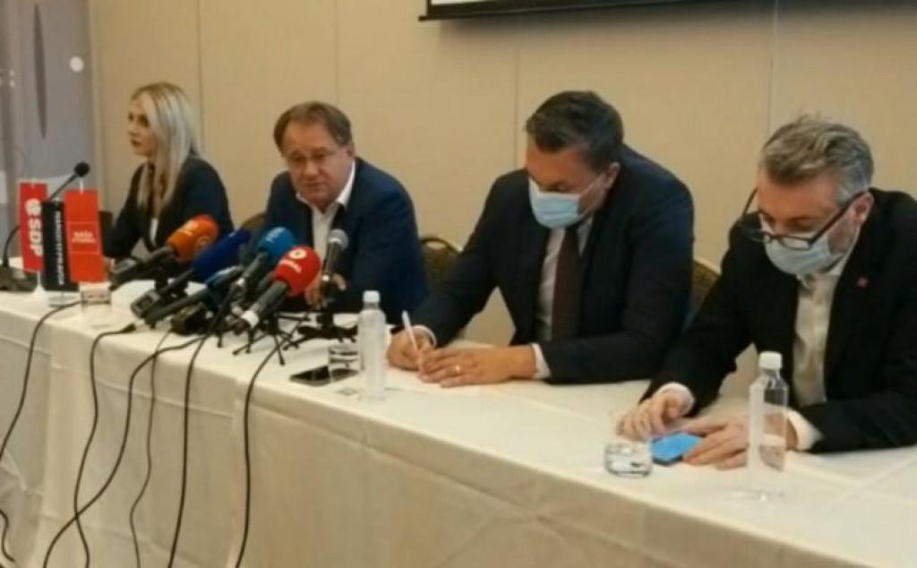 <p>Lideri bošnjačkih opozicijskih stranaka</p>