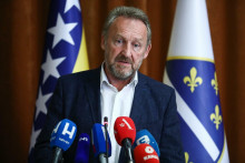<p>Bakir Izetbegović, predsjednik SDA</p>