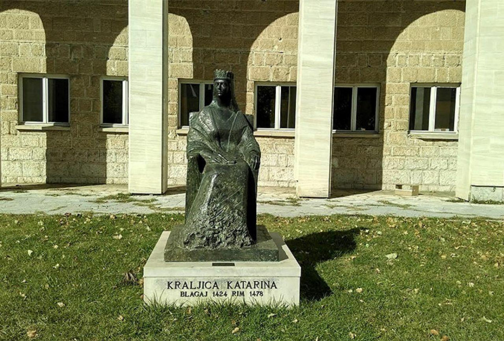 <p>Obljetnica smrti kraljice Katarine Kosače</p>