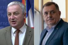 <p>Borenović i Dodik</p>