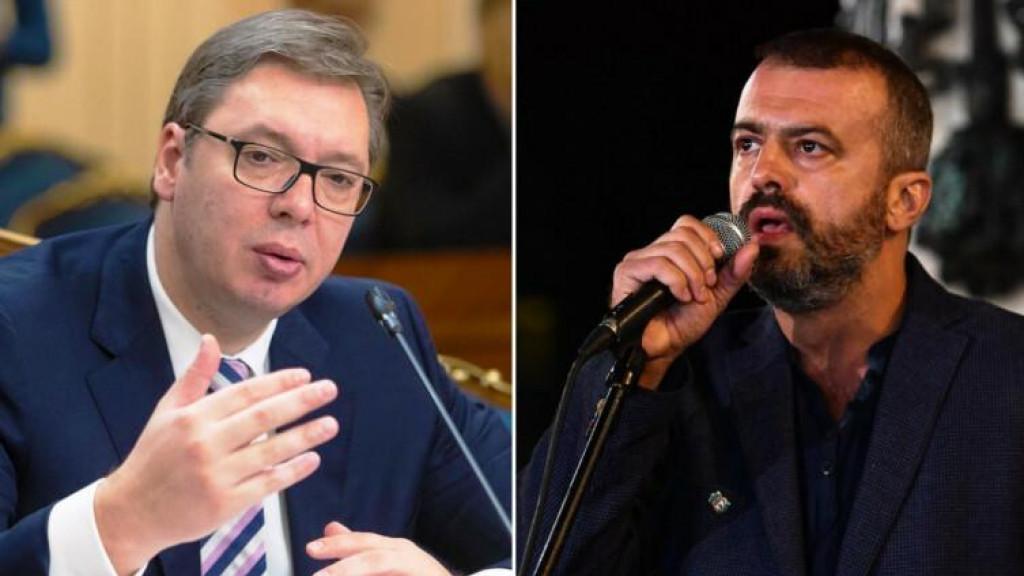 <p>Vučić i Trifunović</p>