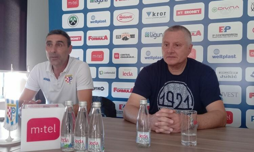 <p>Treneri Stipe Balajić i Tomislav Ivković.</p>