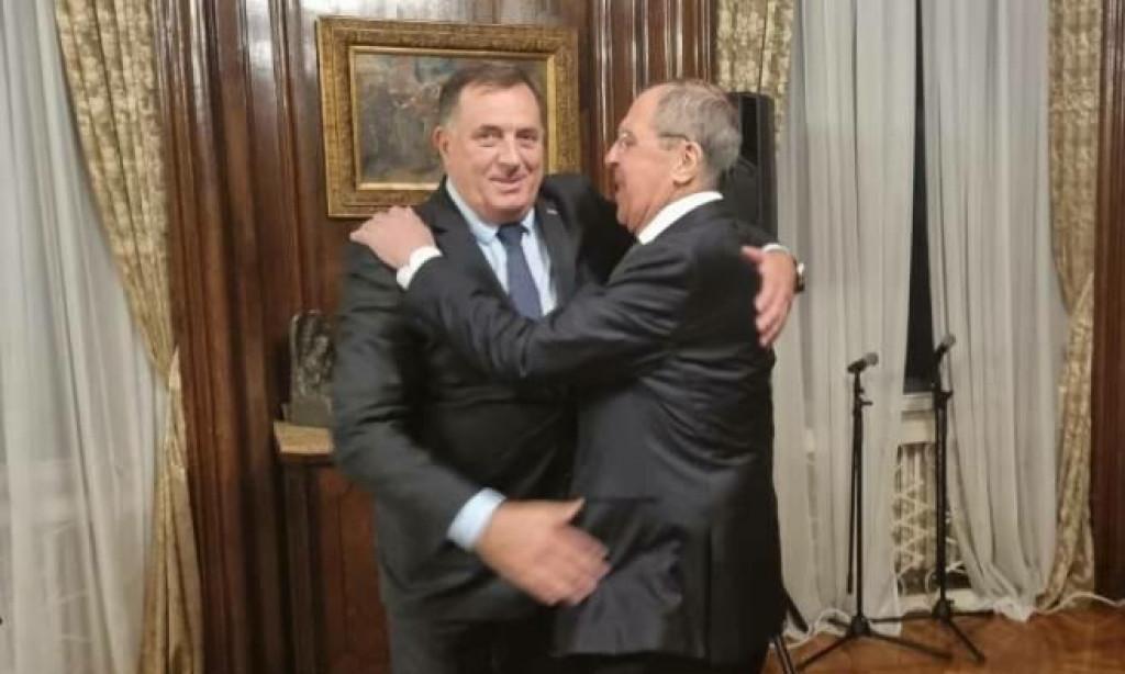 <p>Dodik i Lavrov</p>