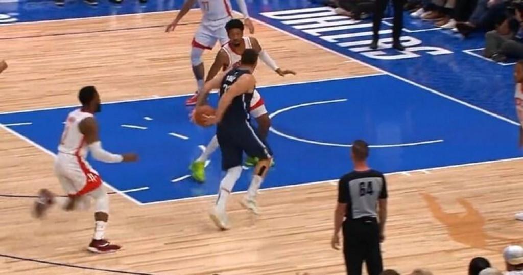 <p>Dončićev dribling i asistencija jedan su od najluđih poteza nove NBA sezone</p>